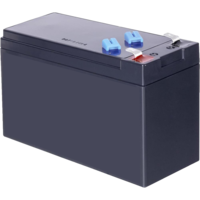 Lead battery 12V 9AH with flat plug